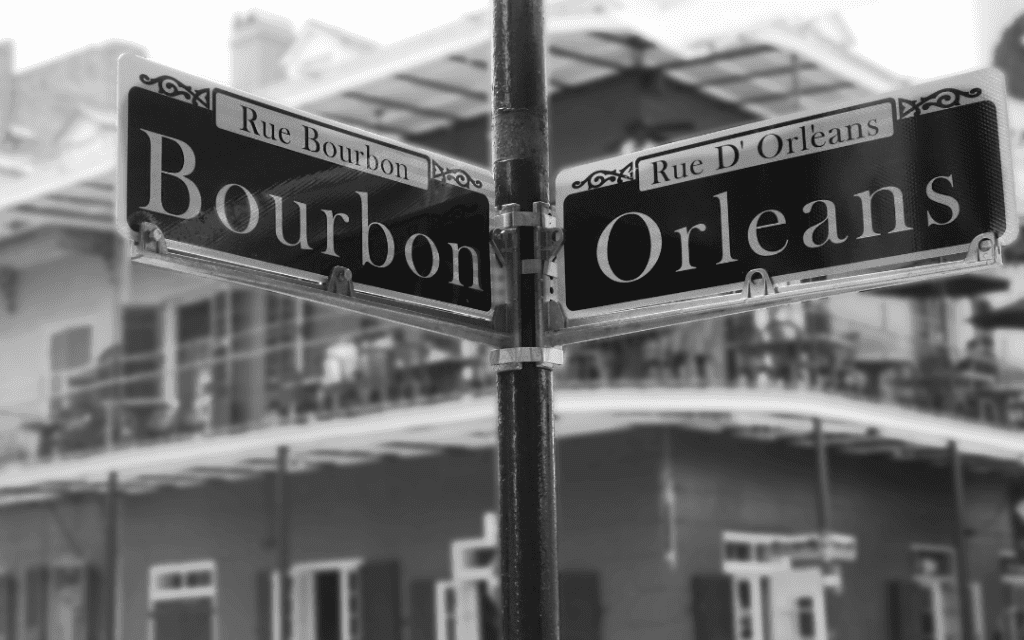 Bourbon origin in new orleans