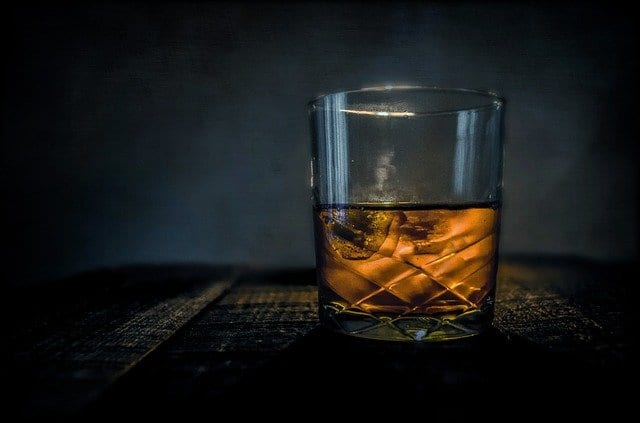 Dilute and enjoy whiskey bourbon